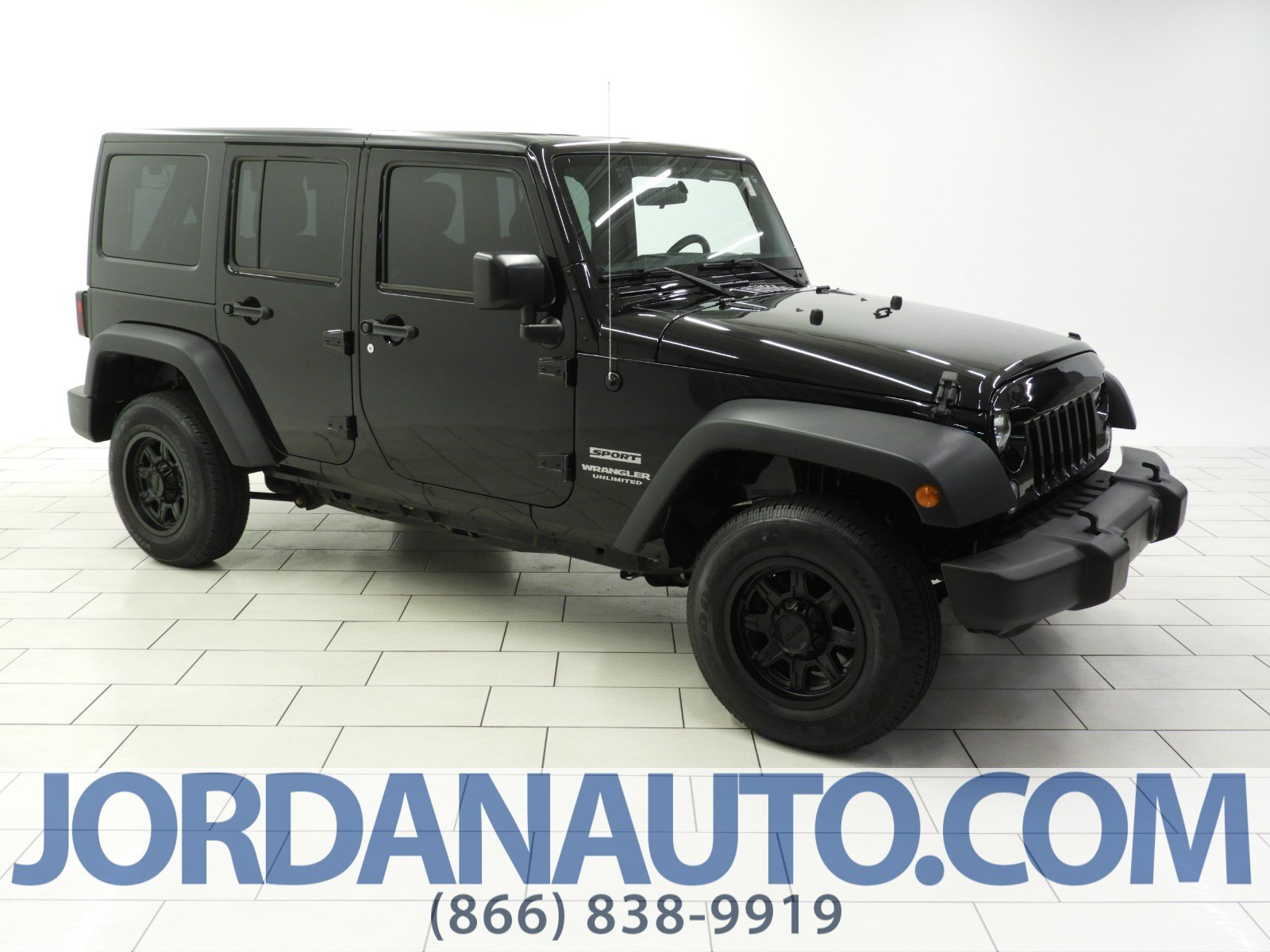 Pre-Owned 2016 Jeep Wrangler Sport