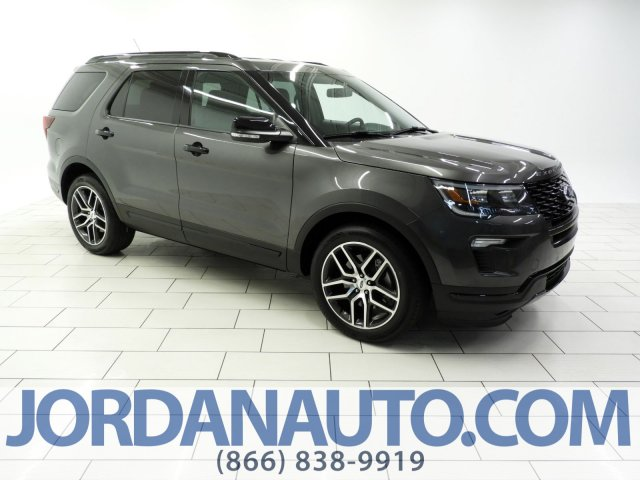 Certified Pre-Owned 2018 Ford Explorer Sport