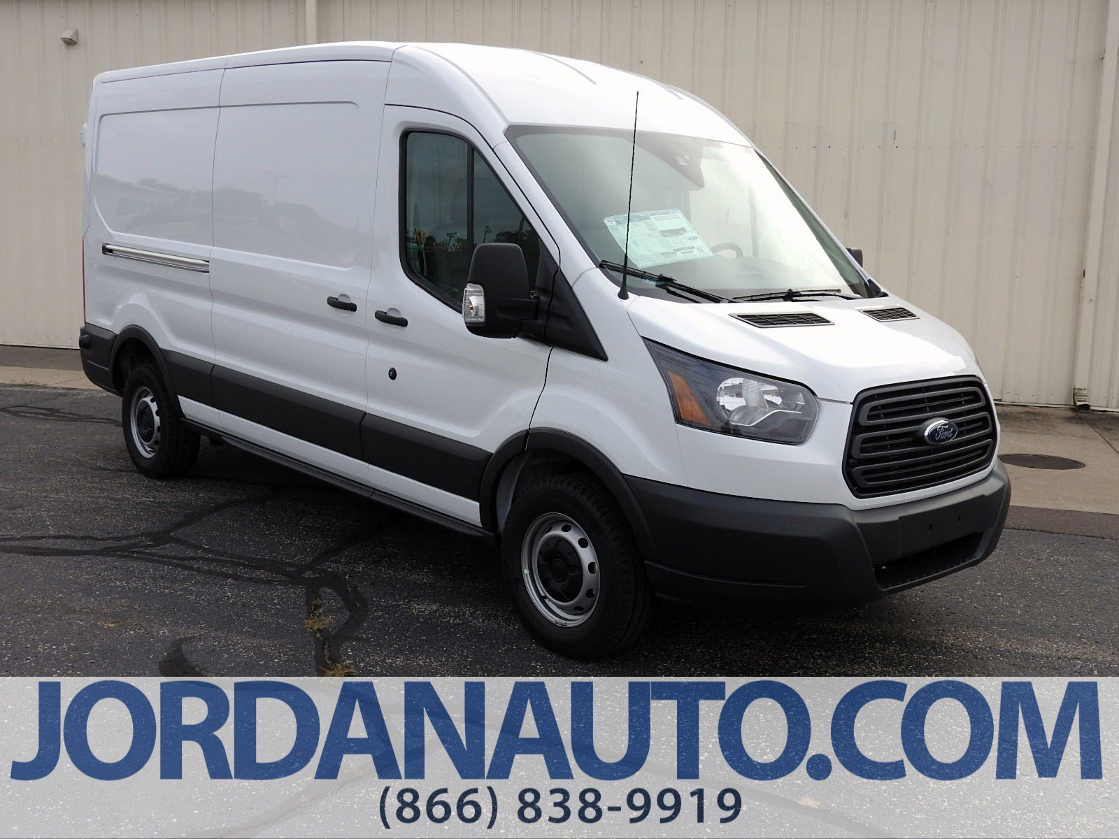 New 2018 ford transit van xl