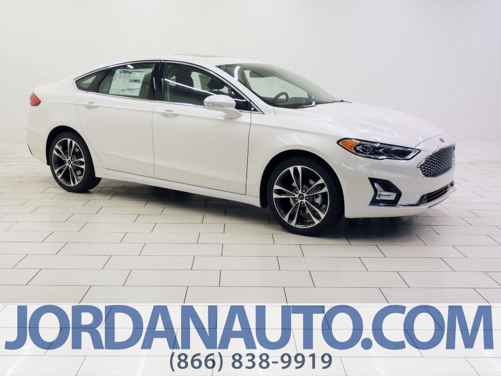 New 2019 Ford Fusion Titanium 4dr Car In Mishawaka Kr168778
