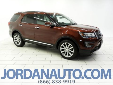 Certified Pre-Owned 2016 Ford Explorer Limited