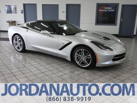 Pre-Owned 2017 Chevrolet Corvette 3LT