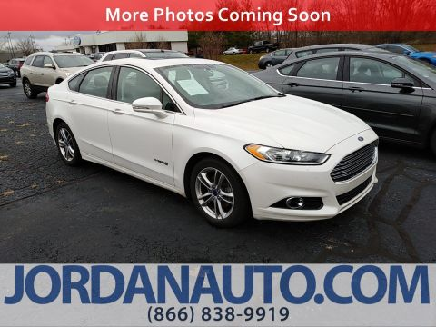 Pre-Owned 2015 Ford Fusion Titanium Hybrid